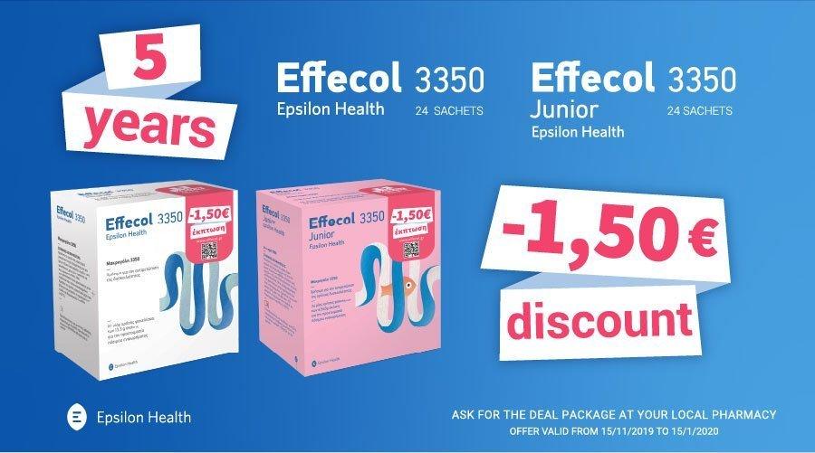 effecol 5 year offer